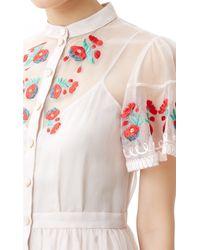 Temperley London | White Elette Dress | Lyst