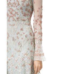 Temperley London Multicolor Long Glen Dress