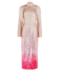 Temperley London Pink Opia Dress