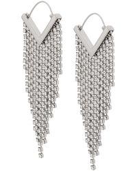 Isabel Marant White Earrings