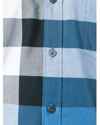 Burberry - Blue Fred Shirt for Men - Lyst