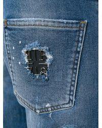 "Philipp Plein - Blue ""positano"" Jeans for Men - Lyst"