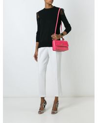 Ferragamo Pink Seila Handbag