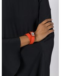 Givenchy - Orange 'shark' Bracelet - Lyst