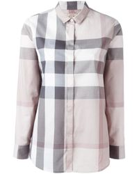 Burberry | Multicolor Check Cotton Shirt | Lyst