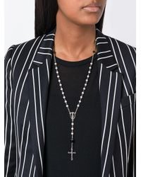 Givenchy - Multicolor Two-coloured Rosario Necklace - Lyst