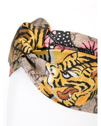 Gucci Multicolor Printed Hairband