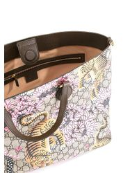 """Gucci - Multicolor """"gg Supreme"""" Bengal Shopping Bag - Lyst"""