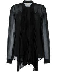 MICHAEL Michael Kors - Black Shirt - Lyst