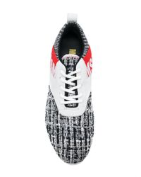 MSGM - Multicolor Gore Lace Up Sneakers - Lyst