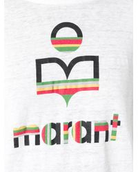 "Étoile Isabel Marant White ""klowia"" T-shirt"