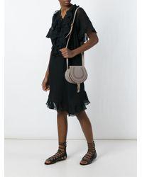 Chloé Gray Small 'marcie' Shoulder Bag