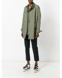 Stella McCartney Green Trench Coat