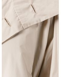 Issey Miyake - Natural Flat Wind Coat - Lyst