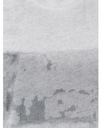 Raquel Allegra - Gray Tie-dye Tank - Lyst