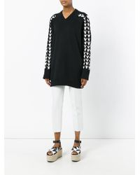 Y. Project | Black Braided Sleeve Jumper | Lyst