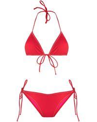 Reina Olga Red Susan Bikini Set