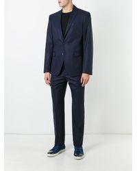 Versace - Blue Formal Suit for Men - Lyst