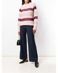 Pantalone Nedford In Lana di Étoile Isabel Marant in Blue