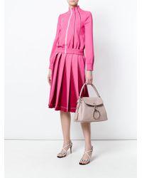 Valentino Pink Leather Shoulder Bag
