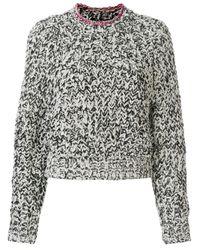 Isabel Marant - Black Wenji Turtle-neck Cotton Sweater - Lyst