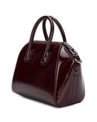 Givenchy Red Antigona Mini Leather Bag