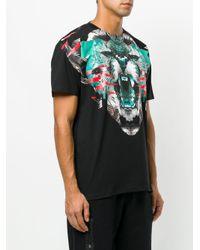 Marcelo Burlon Black Elue Cotton T-shirt for men