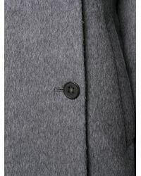 Acne Gray Wool Long Coat
