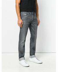 Calvin Klein Gray Slim Jeans for men