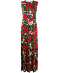 Abito Lungo di Dolce & Gabbana in Multicolor