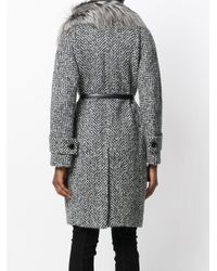 Ermanno Scervino - Gray Coat - Lyst