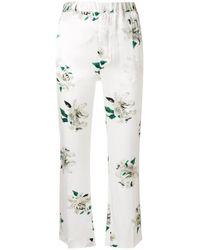 Dondup - White Trouser Lightness - Lyst