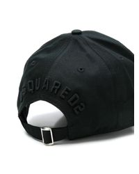 Cappellino Icon di DSquared² in Black da Uomo