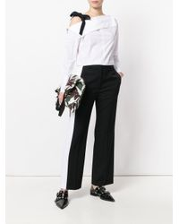 Stella McCartney Black Wool Trousers