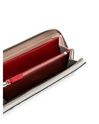 Valentino - Metallic Garavani Rockstud Spike Continental Wallet - Lyst