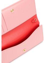 Portafoglio City In Pelle di Ferragamo in Pink
