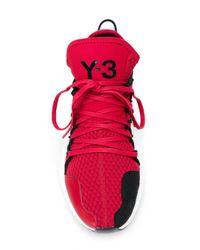 Y-3 Red Kusari Sneakers