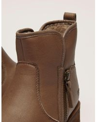 Ugg - Natural Womens Lavelle Short Boot Camel - Lyst