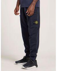 Stone Island - Blue Basic Track Pants for Men - Lyst