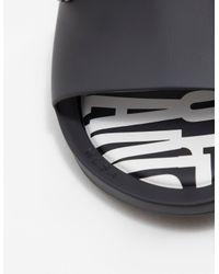 Melissa Mens X Vivienne Westwood Orb Slides Black for men