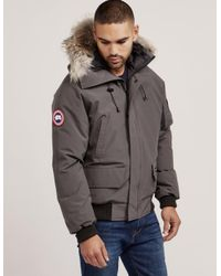 online retailer e51c0 39a8a Men's Chilliwack Padded Bomber Jacket Gray