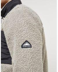 Penfield - Gray Mens Mattawa Sherp Full Zip Sweatshirt Grey for Men - Lyst