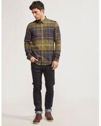 Barbour - Green Johnny Shirt for Men - Lyst