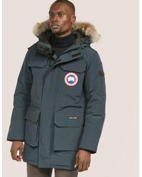 e8626e17312 Men's Blue Citadel Parka Jacket