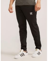 Men's Black Superstar 2.0 Poly Track Pants