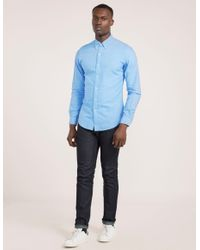 Polo Ralph Lauren - Blue Oxford Shirt for Men - Lyst