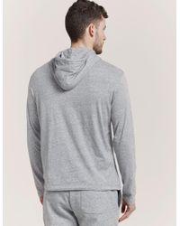 Polo Ralph Lauren - Gray Long Sleeve Hooded T-shirt for Men - Lyst