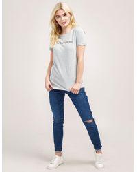 Calvin Klein - Gray Tamar 43 Short Sleeve T-shirt - Lyst