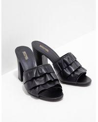 Michael Kors Bella Mule Heels Black