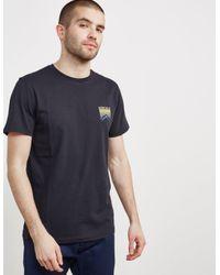 Penfield Mens Back Print Short Sleeve T-shirt - Online Exclusive Black for men